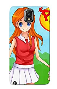 Snap-on Case Designed For Galaxy Note 3- Phinea Ferb And Candace Anime Tyle By Koreta10