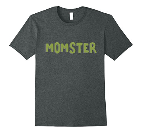 Easy Halloween Costumes Ideas For Work (Mens Momster Costume - Easy Monster Costume - Halloween Shirt Medium Dark Heather)