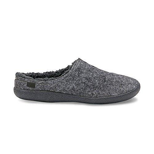 TOMS Men's Berkeley Slipper Grey Slub Textile 12 D US