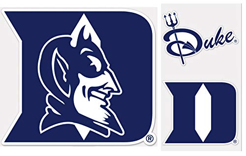 Decal Devils Blue - Wincraft Duke Blue Devils Outdoor Decal Gift Set 1 Med Sized Decal 7.5