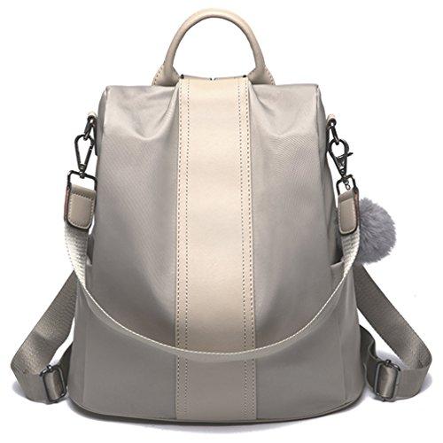 a79746d9cb19 Galleon - LoZoDo Women Backpack Purse Waterproof Nylon Anti-theft Rucksack  Lightweight Shoulder School Bags