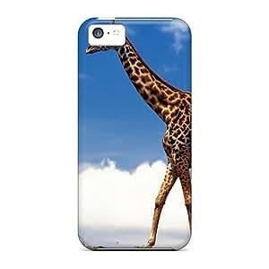 For Iphone 5c Fashion Design Giraffe Case-JaglYbt979oFxgG