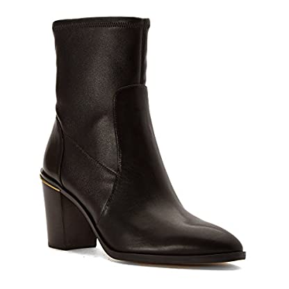 Michael Kors Michael Womens Chase Ankle Boot, Dark Brown, Size 9.0 US/7 UK US 1