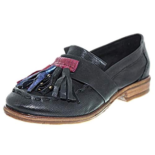 Loafer Black Women's Flats Airstep Airstep Women's Black Flats Loafer APUqYY
