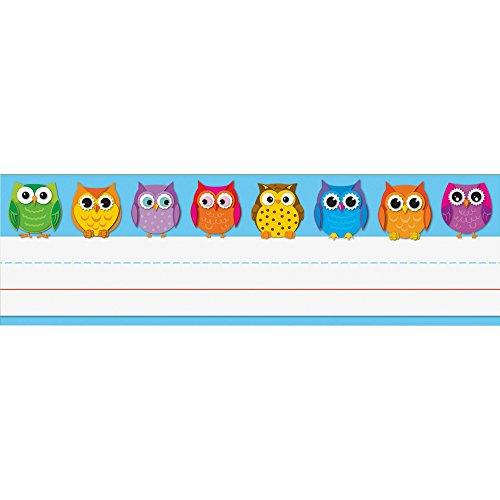 (Carson-Dellosa 122029 Owl Nameplates 9-1/2