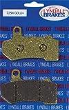 LYNDALL BRAKE LRB ''GOLD'' RR PADS-86-99 FL 7157-G