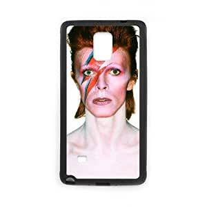 Samsung Galaxy Note 4 Case,Generic Cell Phone Case for Samsung Galaxy Note 4 [Black] David Bowie [Custom] GK1568