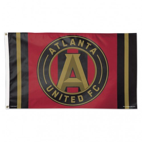fan products of SOCCER Atlanta FC 15190115 Deluxe Flag, 3' x 5'