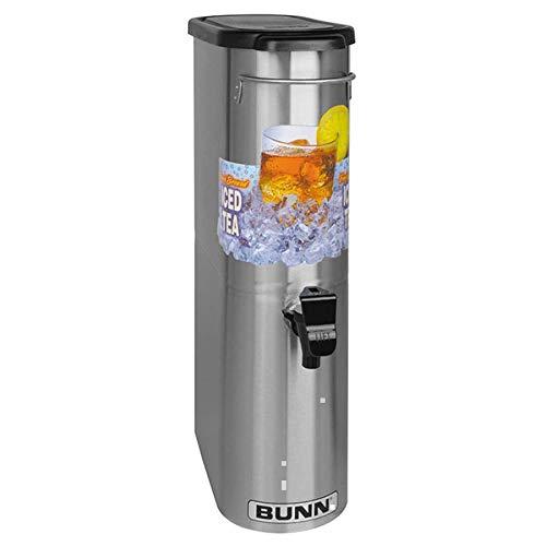 Bunn 39600.0031 TDO-N-3.5 3.5 Gallon Narrow Iced Tea Dispenser with Lift Handle ()