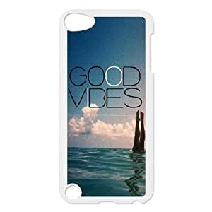 Good Vibes DIY Durable Hard Plastic Case Cover LUQ902076 For Ipod Touch 5