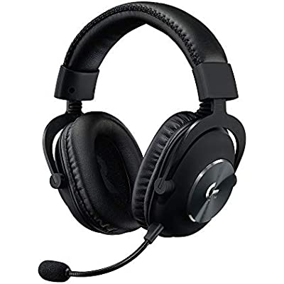 Logitech PRO Gaming Headset 2nd Generation Comfortable and Durable with PRO-G Audio Drivers  Aluminum  Steel and Memory Foam  for PC  PS4  Switch  Xbox One  VR   Black