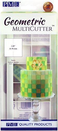 PME GMC143 Geometric Multicutter, Standard, (Multi Cookie Cutter)