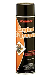 Dynatex 52165 Non-Foaming Engine Degreaser, 20 oz(Net weight : 16 oz.) Aerosol Can,Pack of 12