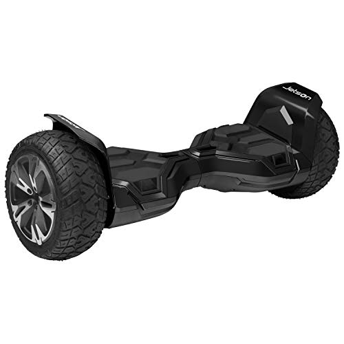 Jetson Electric Bike X2 Extreme Terrain Hoverboard with Powerful 800W Motor, Black