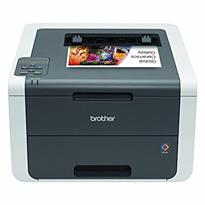 Brother Printer HL3140CW Digital Color Printer with Wireless Networking, Amazon Dash Replenishment Enabled from Brother Printer