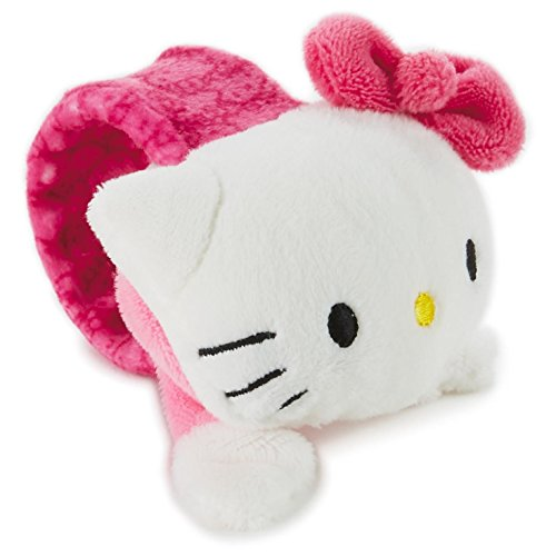 (Snappums Hello Kitty Stuffed Animal Slap Bracelet Plush Toys )