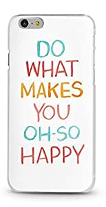 Case For Ipod Touch 4 Cover Case AFYCOLOR Hard PC Material with 3D UV Embossing Craft PriText Series of Do What Makes You Oh So Happy