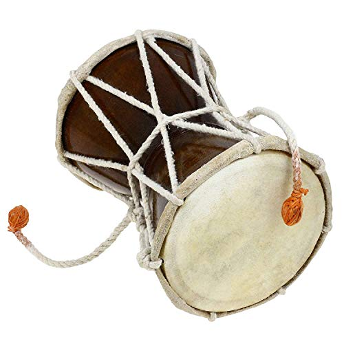 Lord Shiva Hand Made Damroo Damru Musical Instrument Indian Damaru