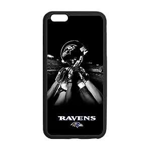 Onshop Baltimore Ravens Pattern Custom Phone Case Laser Technology for iPhone 6 Plus