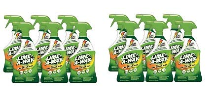 Lime-A-Way Bathroom Cleaner, 132 fl oz (6 Bottles x 22 oz), Removes Lime Calcium Rust (2-(Pack)) by  (Image #1)