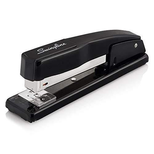 Swingline Stapler, Commercial Desk Stapler, 20 Sheet Capacity, Black (44401) (Renewed)