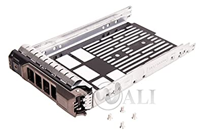 WALI SAS SATA Tray Caddy for PowerEdge R310, R320, R410, R415, R510, R515 0F238F, F238F, X968D, 0X968D, G302D, 0G302D Exclusively by WALI
