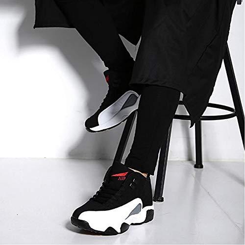 otoño Zapatillas Zapatos Negro CN44 sintéticos Unisex Primavera Negro Comfort Verano UK9 EU43 US10 ZHZNVX USXxqS