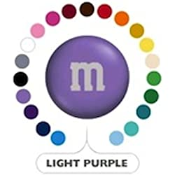 M&M's Light Purple Milk Chocolate Candy 5LB Bag