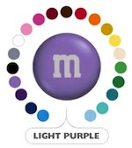 M&M's Light Purple Milk Chocolate Candy 5LB Bag ()