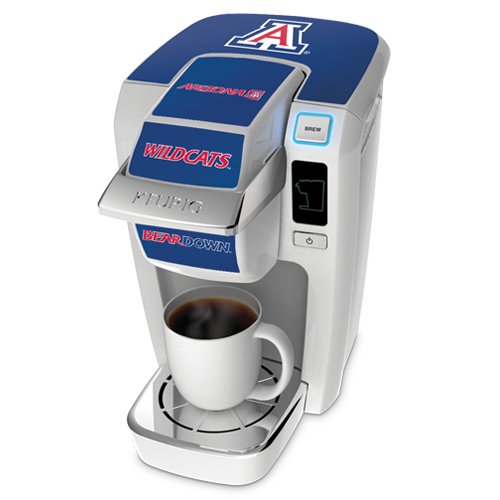 Keurig K10 White Mini Plus Single Cup Personal Brewer with University of Arizona Decal Kit (Keurig K10 Blue compare prices)