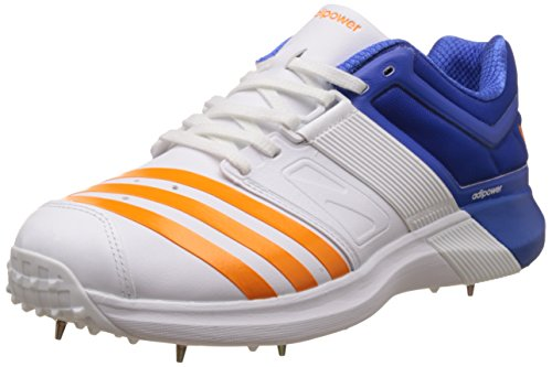 adidas Adipower Vector Scarpe da Cricket - SS17 White
