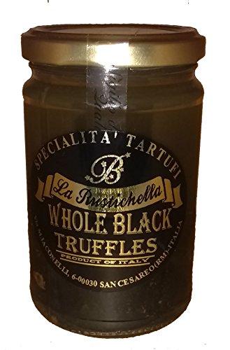 [La Rustichella Fresh Whole Black Italian Truffles Certified Kosher 3.5 oz – 1 pack] (Italian Mushroom Truffles)