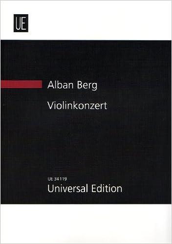 Violin Concerto: UE34119: Study Score