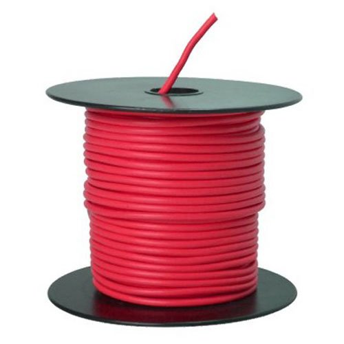 Red 100' Primary Wire - 1
