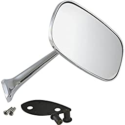 Eckler\'s Premier Quality Products 25-120598 Premier Quality Products, Outside Mirror, Chrome, Right| AGC50-85202 Corvette -