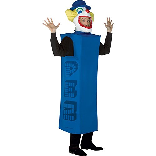 Adult Pez Dispenser Halloween Costume (Size: Standard 44) ()
