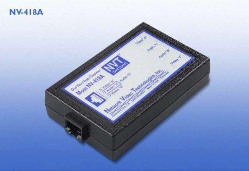 NVT NV418A NV-418A Dual Passive Video/Audio (Nvt Passive Video)