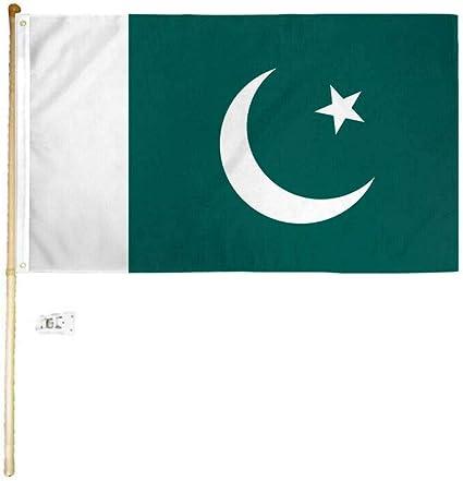 "/""PAKISTAN/"" 3x5 ft flag polyester"