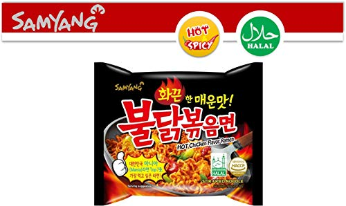 Samyang Ramen/ Spicy Chicken Roasted Noodles 140g(Pack of 5) ()