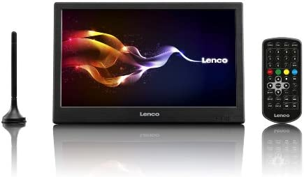Lenco TFT-1026 - Televisor portátil WSVGA de 10.1