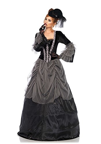 Victorian Ball Gown Adult Costume - Small - Victorian Gown Costumes