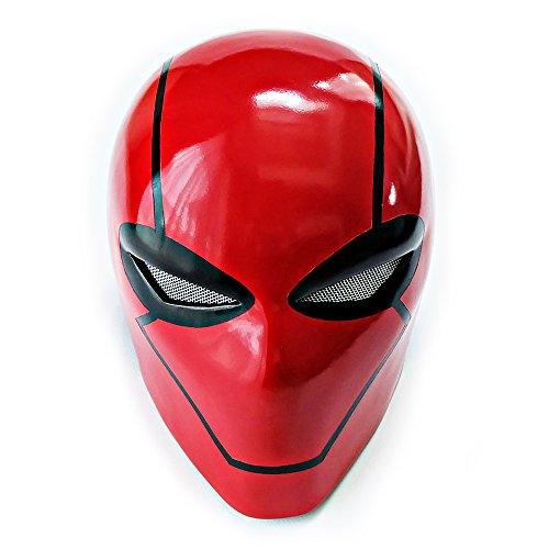 Custom Wearable Halloween Costume Cosplay Movie Prop Mask Gift Batman Jason Todd Red Hood Helmet (Batman The Red Hood Costume)