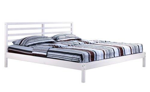 Letto Futon Matrimoniale : Sixbros letto in legno letto futon letto matrimoniale legno pino