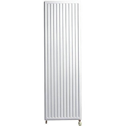 F25211950601 Radiateur eau chaude REGGANE 3000 type 21 vertical blanc largeur 600mm hauteur 1950mm 2040W R/éf 21V19 060