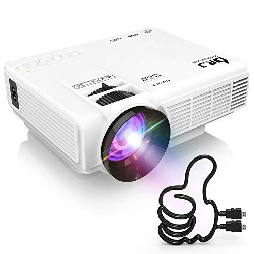 DR. J Professional Full HD 1080P [Bluetooth] Supported Mini Projector 170