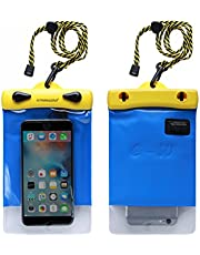 """Dry Bag TPU Waterproof Case Bag With Headset For Smart Phone Apple (4.7"""" x 7.1"""",Y1218H)"""