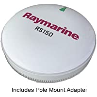 Raymarine T70327 RS150 GPS Antenna, w/ Pole Mount Kit
