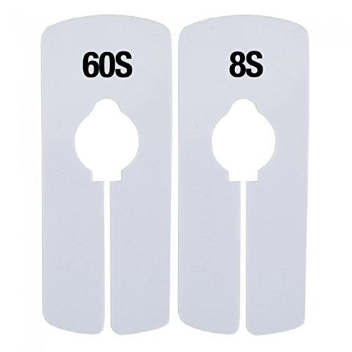 NAHANCO 8S Strung-1-3/4 x 2-11/16'' Strung All Purpose Merchandise Tags-White 1000/Carton (Pack of 1000) by NAHANCO