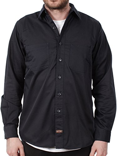 West Coast Choppers Jesse James Navy Heavy Duty Workshirt (S, Navy) (Jesse James West Coast Choppers)