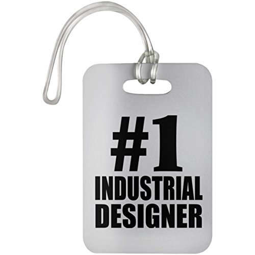 Number One #1 Industrial Designer - Luggage Tag, Suitcase Bag ID Tag